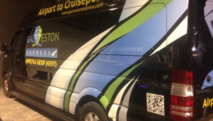 Galvastone express - Houston Airport to Cruiseport